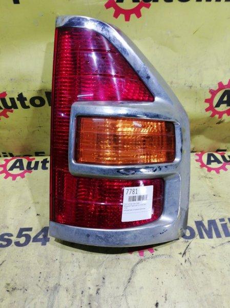 Стоп-сигнал Mitsubishi Pajero V73W 6G72 2002 задний правый