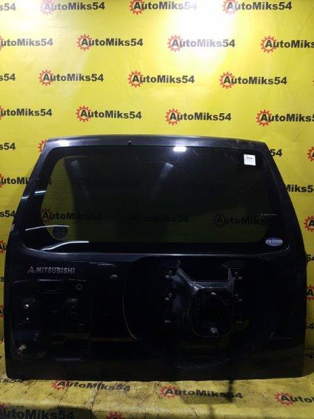 Дверь багажника Mitsubishi Pajero V73W 6G72 2002 задняя