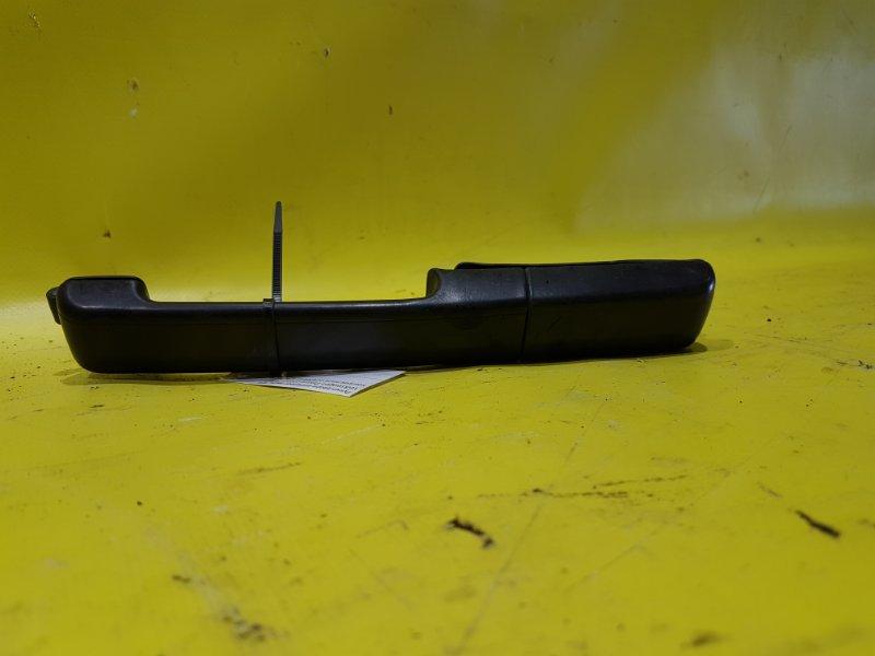 Ручка двери внешняя Volkswagen Passat B3 1Y 1992 задняя левая