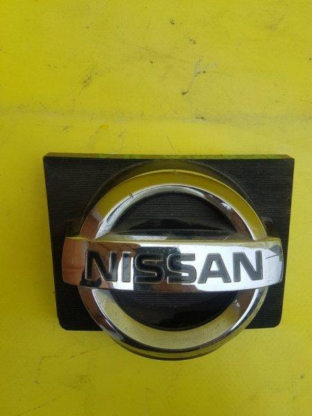 Эмблема Nissan Wingroad VFY11