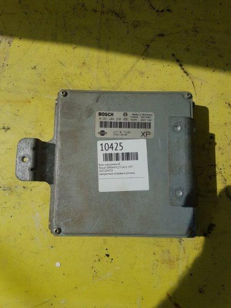Блок управления efi Nissan Serena VC23 GA16 1997