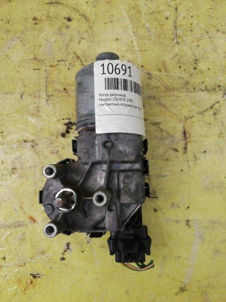 Мотор дворников Peugeot 206 KFW 2009
