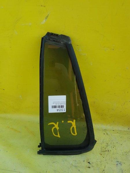 Форточка двери Toyota Passo KCG10 1KR-FE 2006 задняя правая
