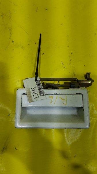 Ручка двери внешняя Chrysler Saratoga 6G72 1992 задняя левая