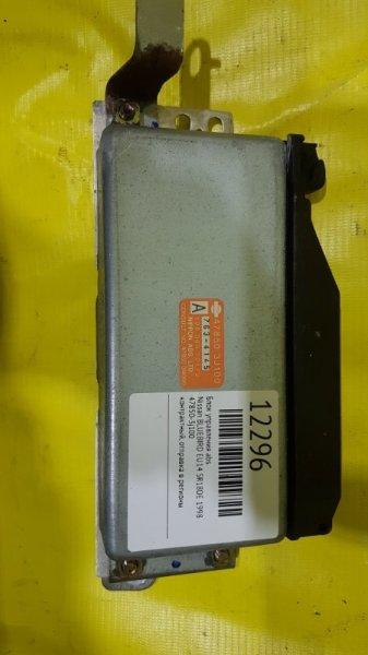 Блок управления abs Nissan Bluebird EU14 SR18DE 1998