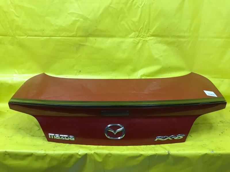 Крышка багажника Mazda Rx8 SE3P 13B 2003