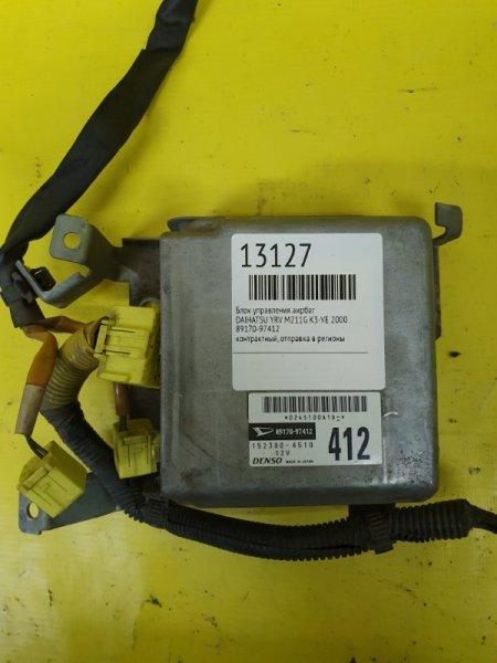 Блок управления аирбаг Daihatsu Yrv M201G K3-VE 2000