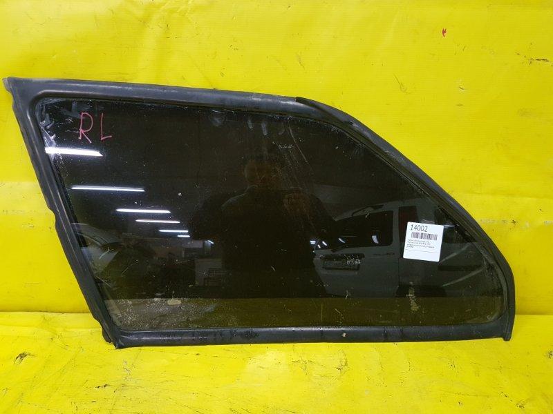 Стекло собачника Toyota Corolla AE104 3E 1993 заднее левое