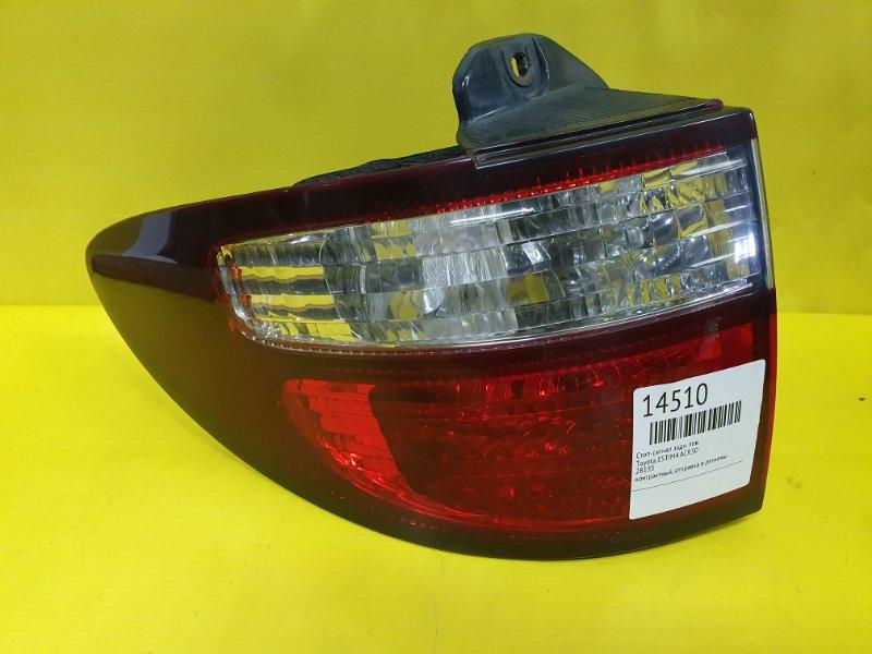 Стоп-сигнал Toyota Estima ACR30 задний левый
