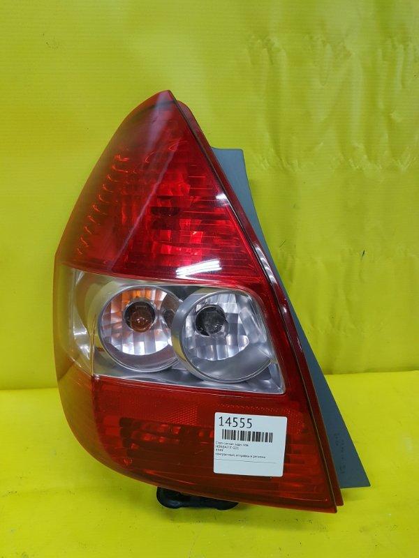 Стоп-сигнал Honda Fit GD1 задний левый