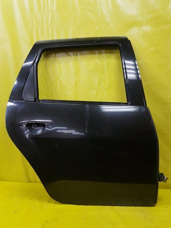 Дверь Renault Duster K9K 2013 задняя правая