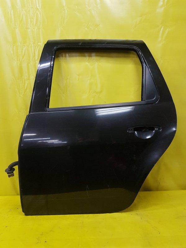 Дверь Renault Duster K9K 2013 задняя левая