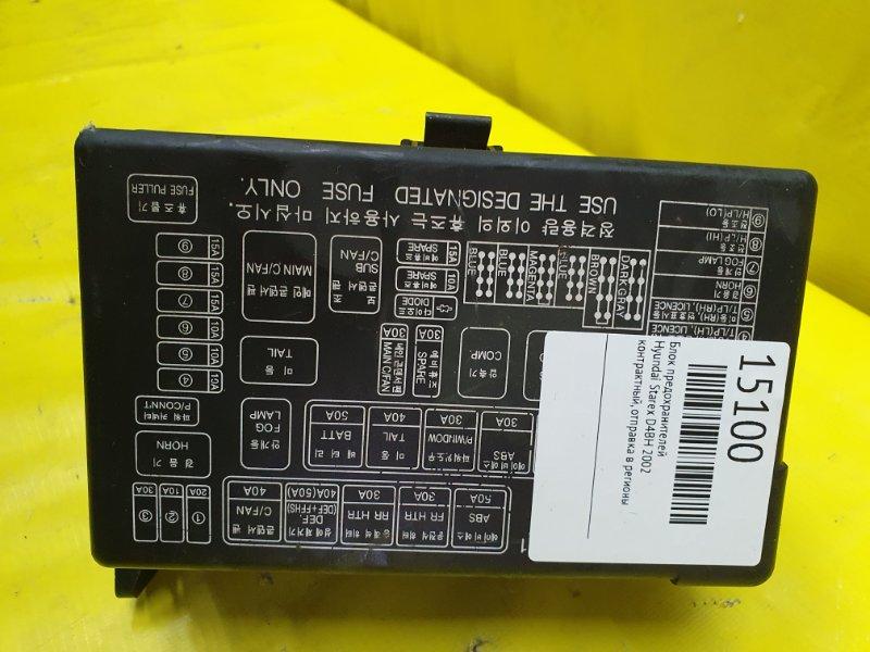Блок предохранителей Hyundai Starex D4BH 2002