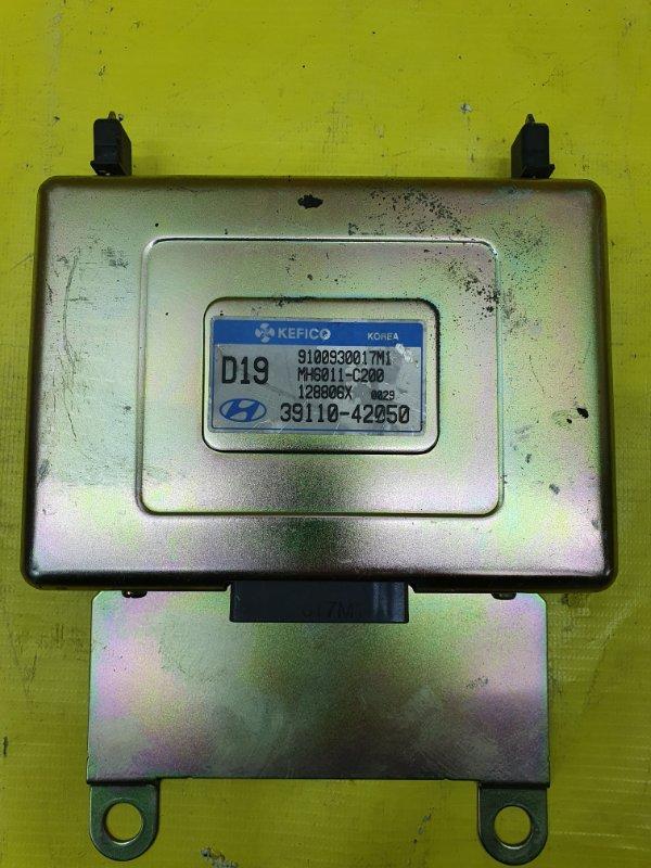 Блок управления efi Hyundai Starex D4BH 2002