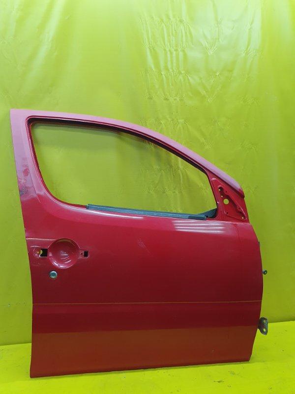 Дверь Daihatsu Yrv M201G K3-VE 2000 передняя правая