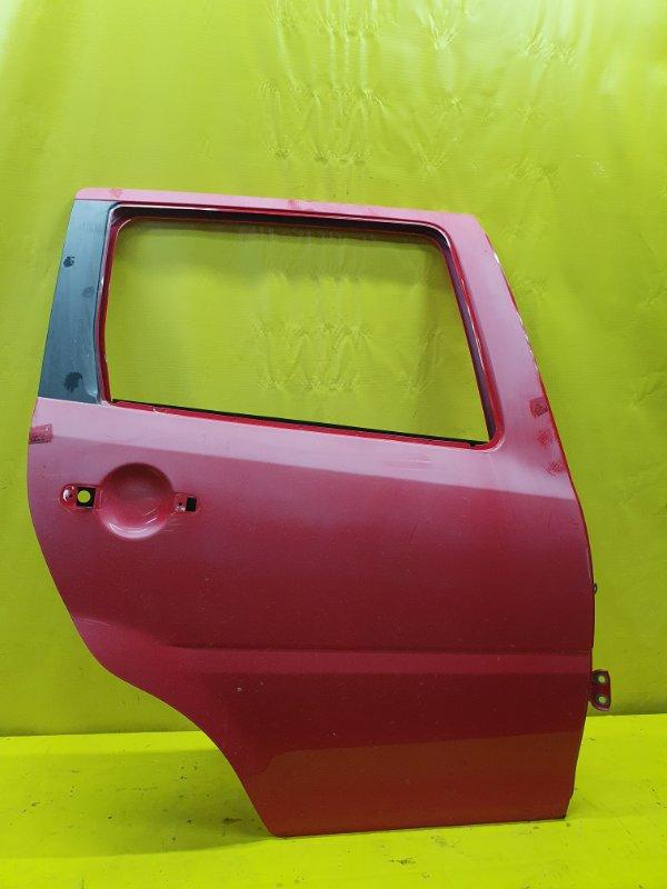 Дверь Daihatsu Yrv M201G K3-VE 2000 задняя правая