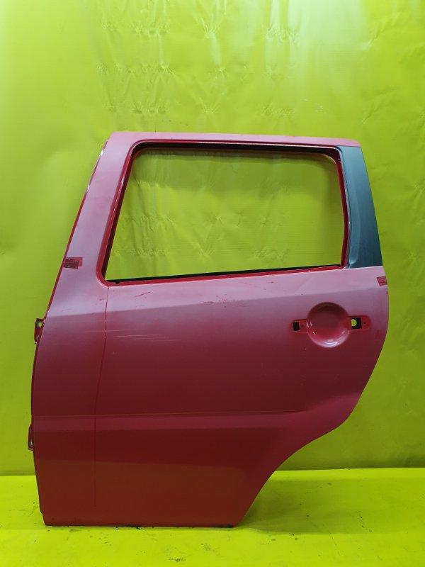 Дверь Daihatsu Yrv M201G K3-VE 2000 задняя левая