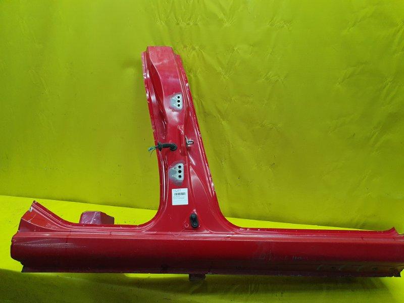 Стойка кузова Daihatsu Yrv M201G K3-VE 2000 правая