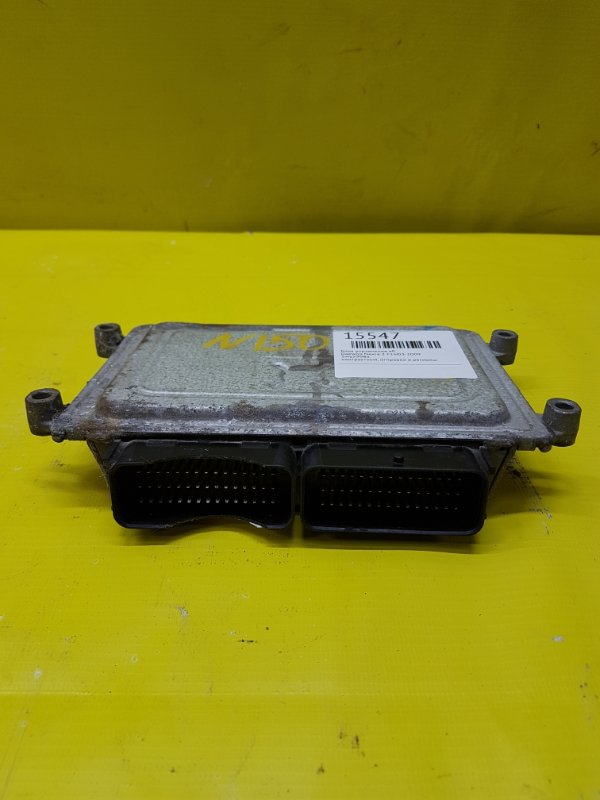 Блок управления efi Daewoo Nexia 2 F16D3 2009