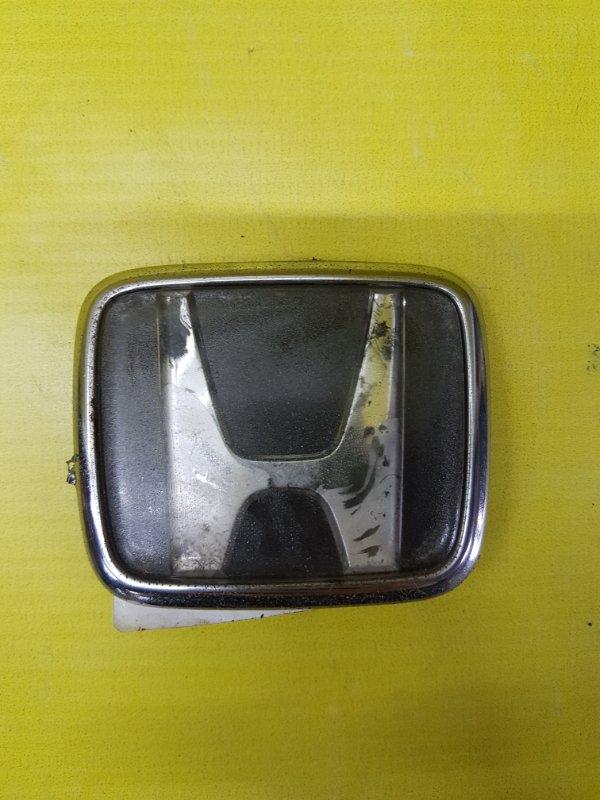 Эмблема Honda Accord CF7 F23A 2001 задняя