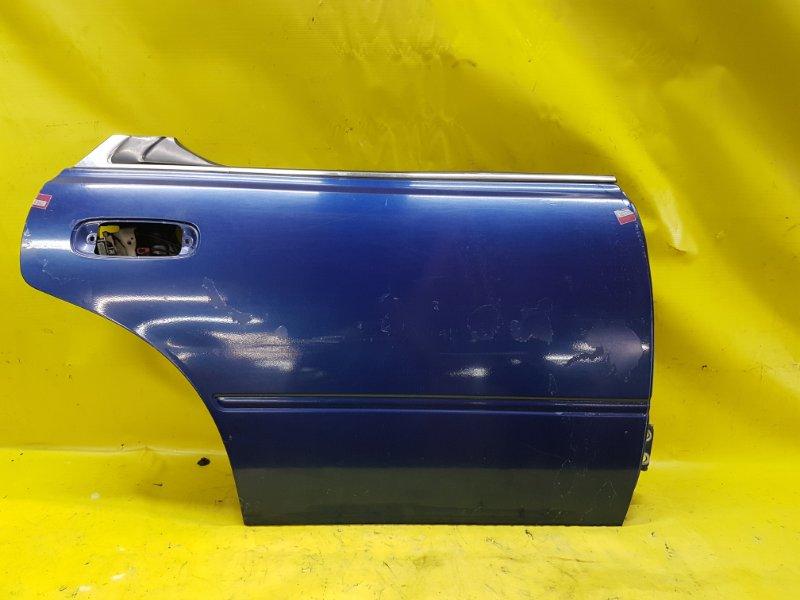 Дверь Nissan Bluebird EU13 SR18(DE) 1995 задняя правая