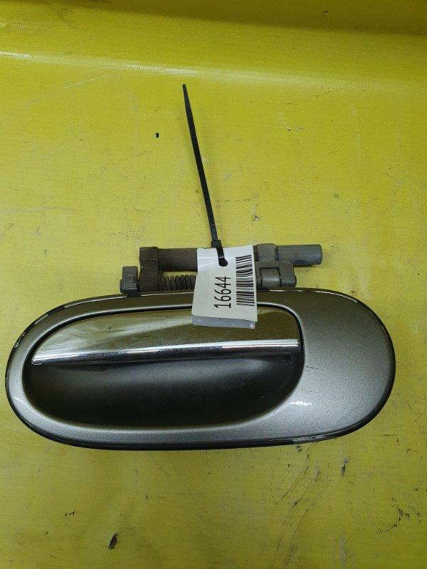 Ручка двери внешняя Nissan Bluebird Sylphy QNG10 QG18 2001 задняя левая