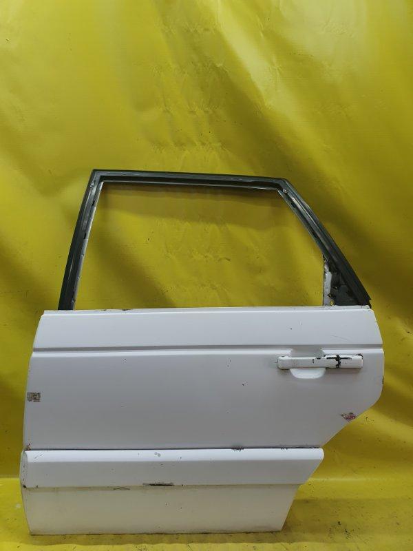 Дверь Volkswagen Passat B3 1F 1989 задняя левая