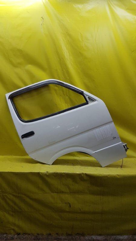 Дверь Toyota Hiace RZH102 1RZ-E 2000 передняя правая