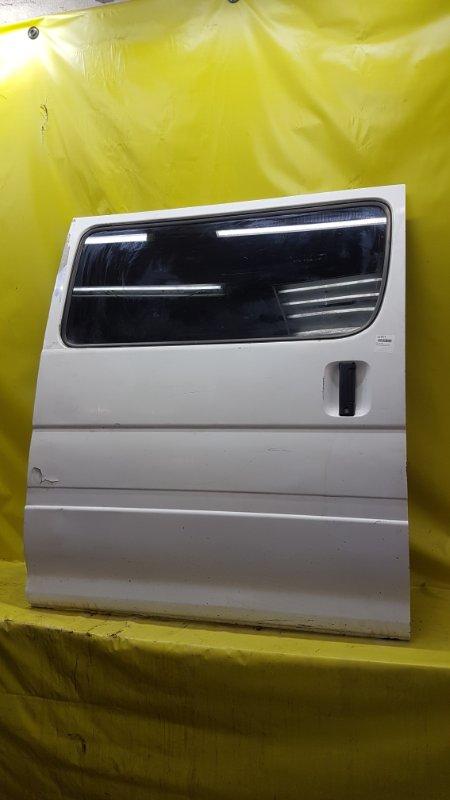 Дверь Toyota Hiace RZH102 1RZ-E 2000 задняя правая