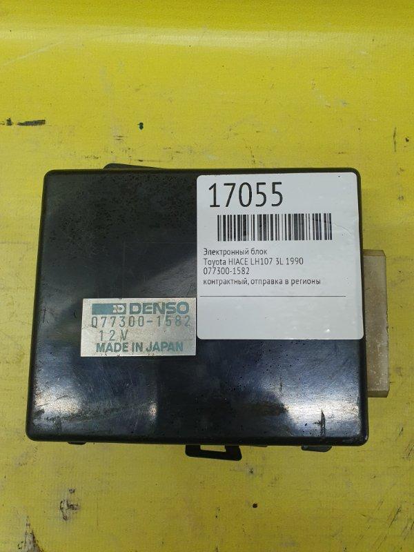 Электронный блок Toyota Hiace LH107 3L 1990