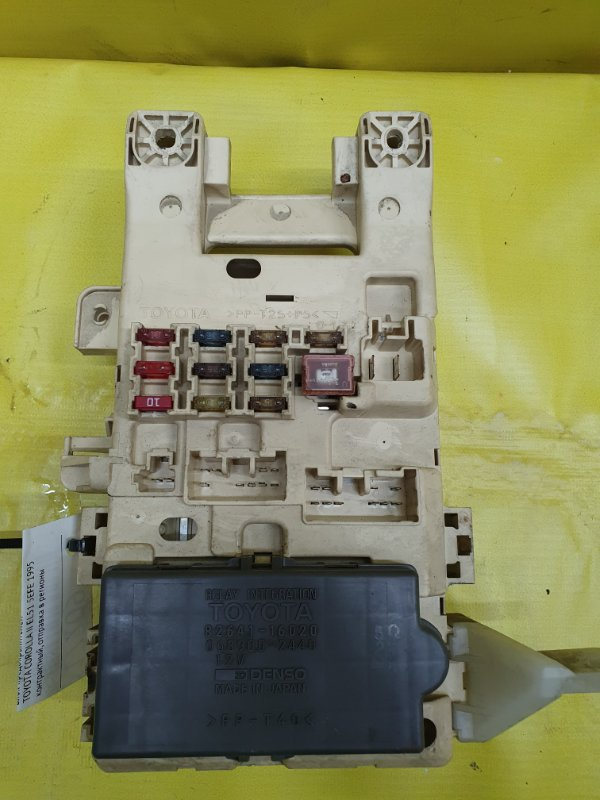 Блок предохранителей Toyota Corolla Ii EL51 5EFE 1995