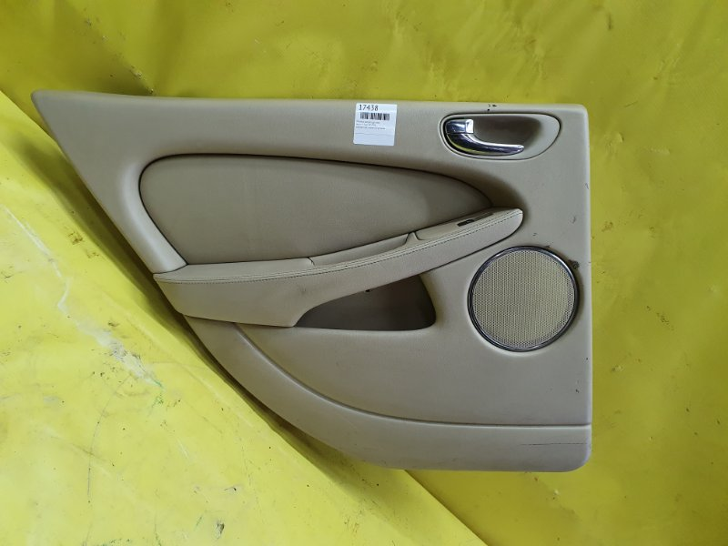 Обшивка дверей Jaguar X-Type XB 2006 задняя левая