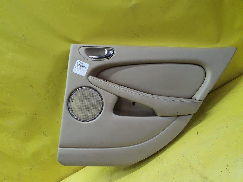Обшивка дверей Jaguar X-Type XB 2006 задняя правая