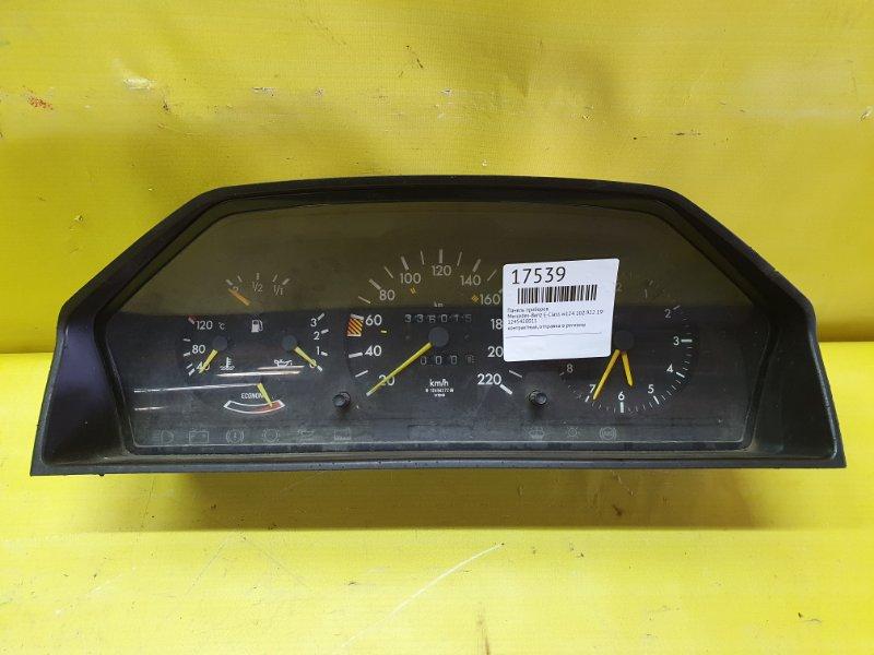 Панель приборов Mercedes-Benz E-Class W124 102.922 1990