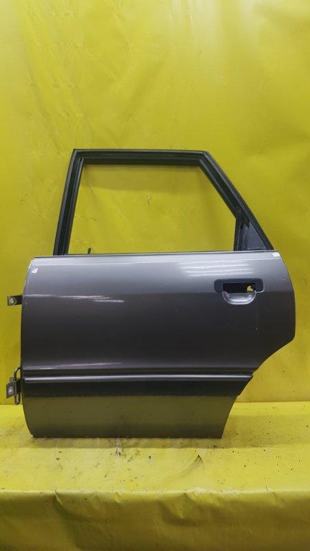 Дверь Audi 90 B3 XAAR 1990 задняя левая