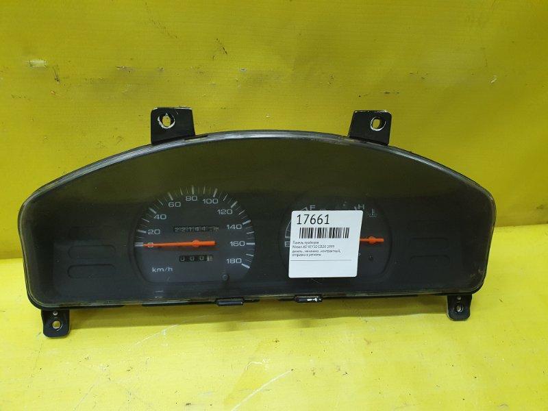 Панель приборов Nissan Ad VEY10 CD20 1999