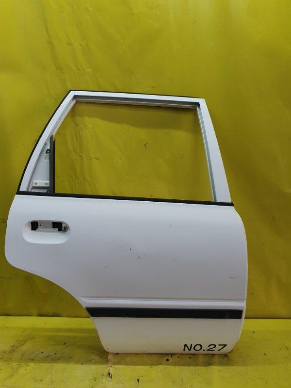 Дверь Nissan Ad VEY10 CD20 1999 задняя правая