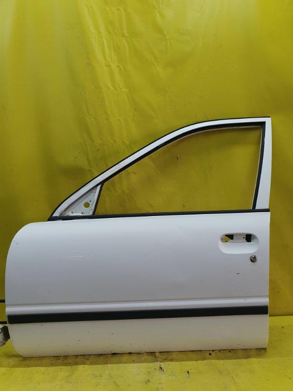 Дверь Nissan Ad VEY10 CD20 1999 передняя левая