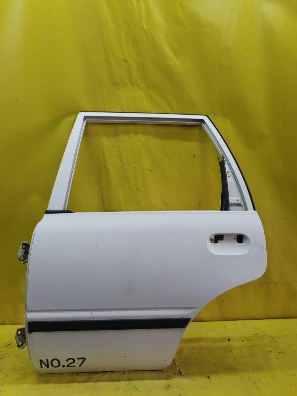 Дверь Nissan Ad VEY10 CD20 1999 задняя левая