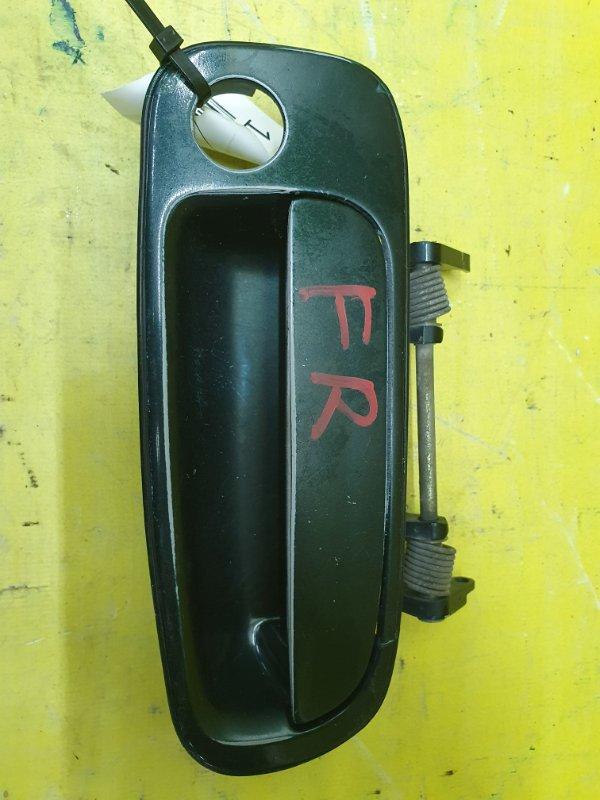 Ручка двери внешняя Toyota Windom VCV11 4VZ-FE 1995 передняя правая