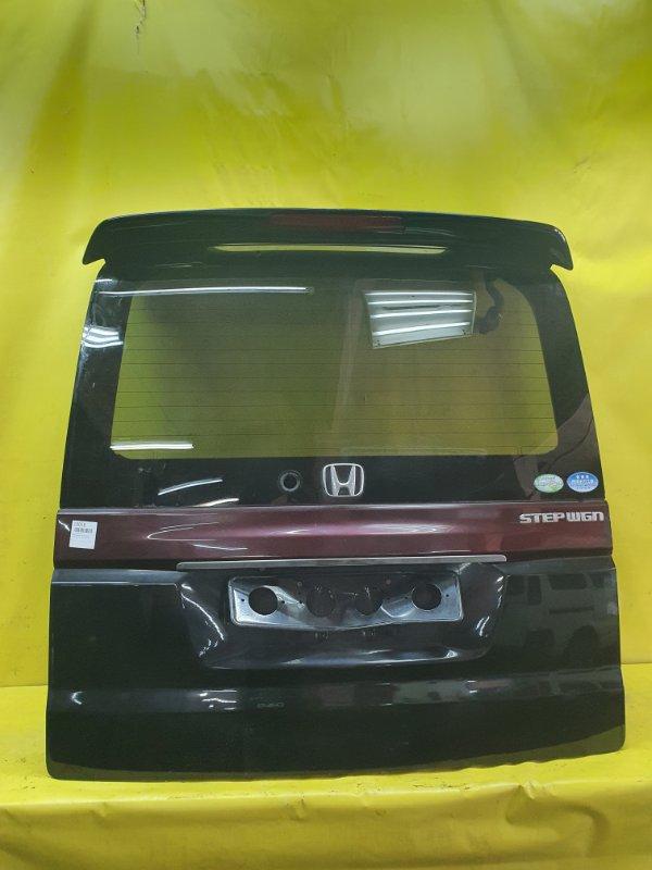 Крышка багажника Honda Stepwgn RF3 K20A 2004