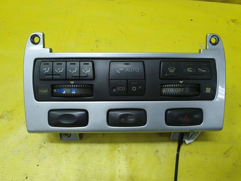 Блок управления климат-контролем Mitsubishi Diamante F13A 6G73 1990