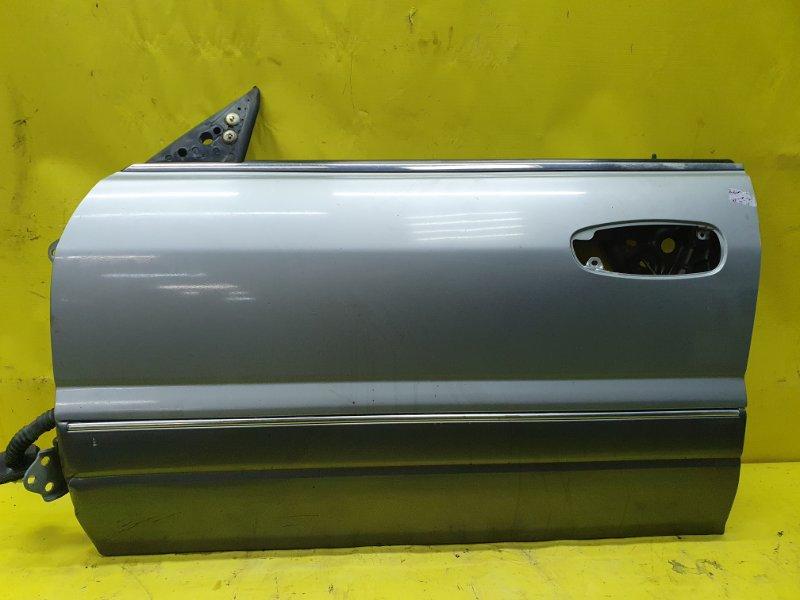 Дверь Mitsubishi Diamante F13A 6G73 1990 передняя левая