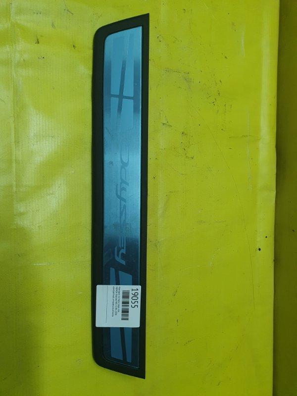 Накладка на порог Honda Odyssey RB1 K24A 2006 задняя левая