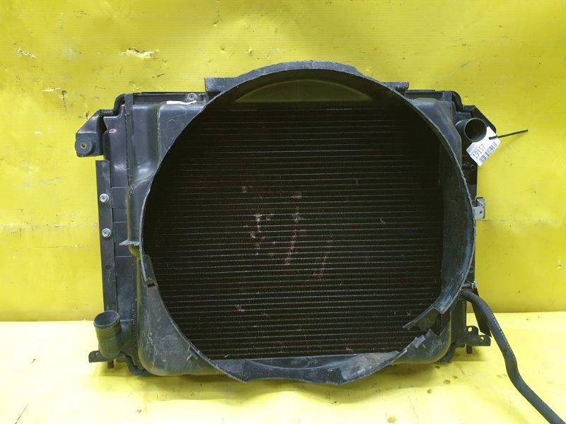 Радиатор основной Nissan Homy E24 TD27
