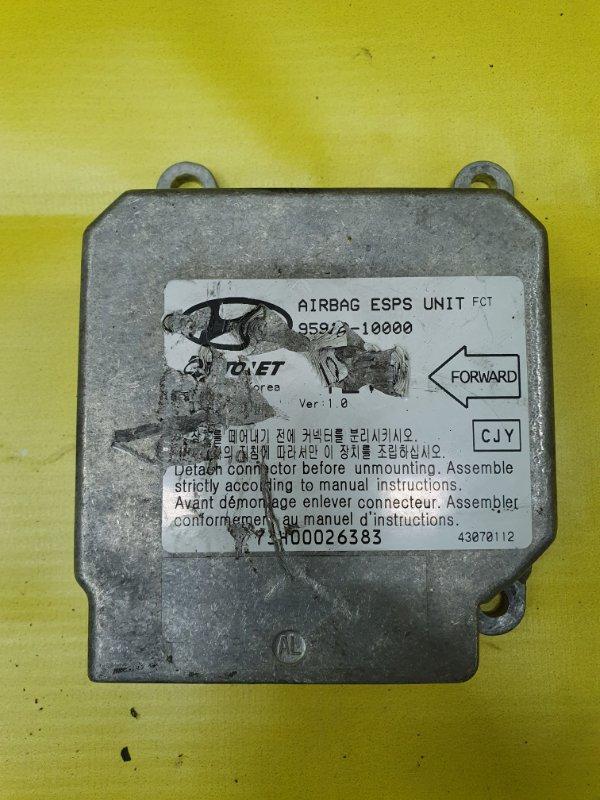 Блок управления аирбаг Hyundai Matrix G4ED 2005