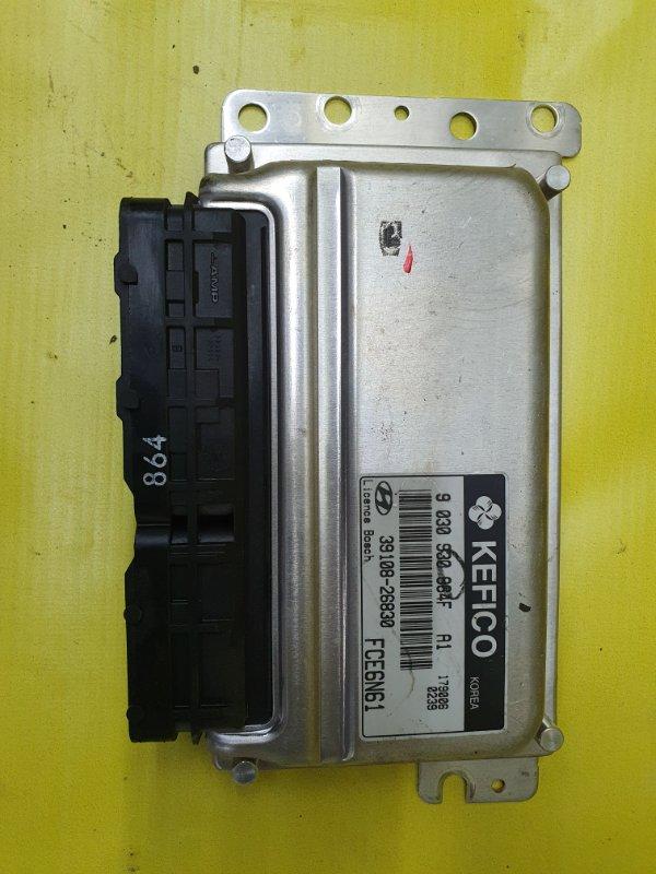 Блок управления efi Hyundai Matrix G4ED 2005