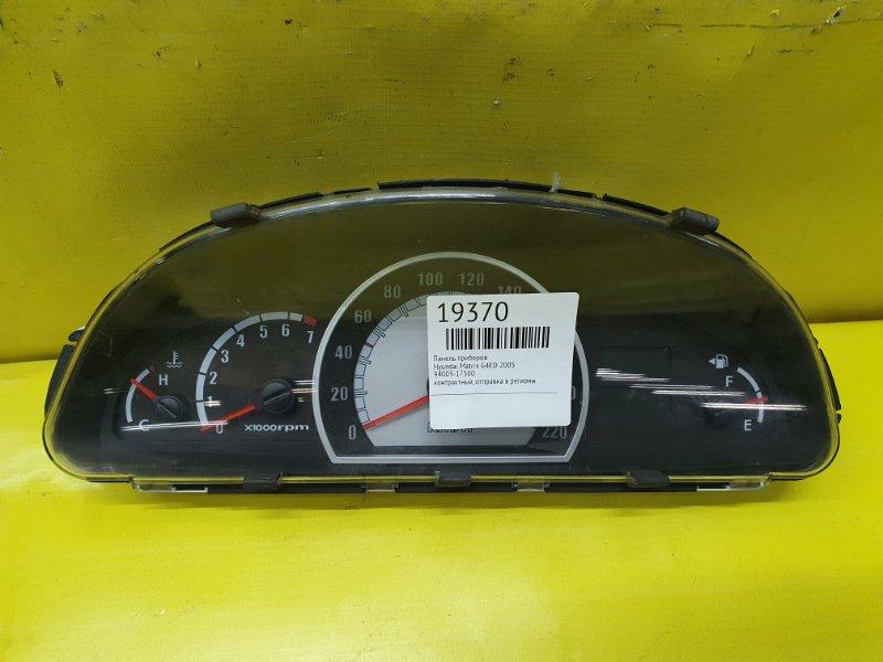 Панель приборов Hyundai Matrix G4ED 2005