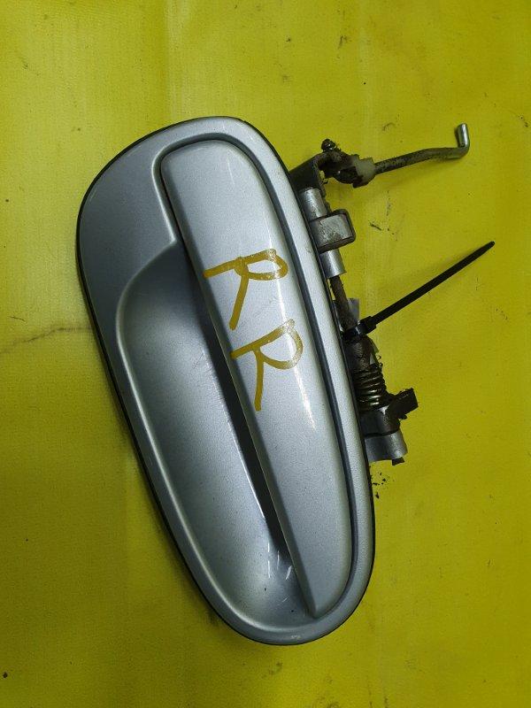 Ручка двери внешняя Hyundai Matrix G4ED 2005 задняя правая