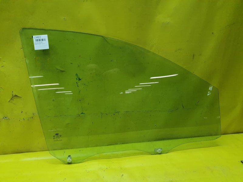 Стекло двери Hyundai Matrix G4ED 2005 переднее правое